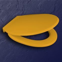 pagette wc sitz exklusiv farbe gelb ral 1004 scharniere. Black Bedroom Furniture Sets. Home Design Ideas