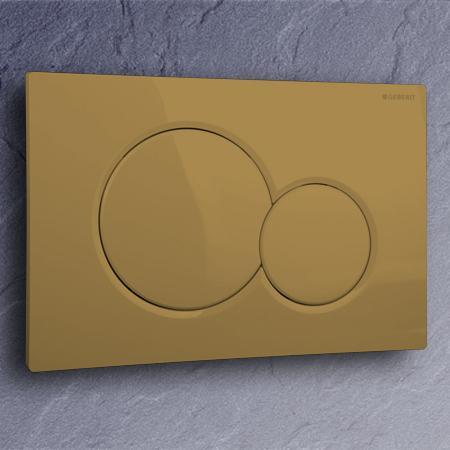 geberit bet tigungsplatte sigma01 farbe bernstein. Black Bedroom Furniture Sets. Home Design Ideas