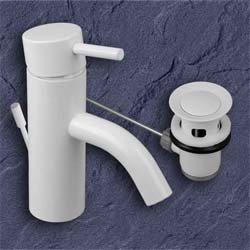 ideal standard a9005 waschtischmischer mara weiss waschtischarmatur. Black Bedroom Furniture Sets. Home Design Ideas