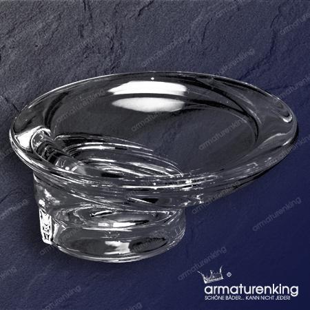 keuco 01255 olympic echtkristall seifenschale 01255009000 klar. Black Bedroom Furniture Sets. Home Design Ideas