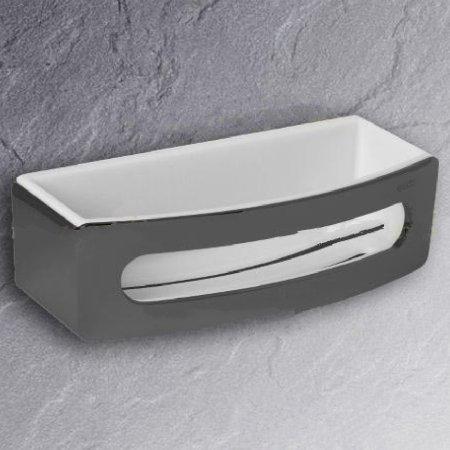 keuco elegance 11658 schwammkorb aranja weiss schwammkorb. Black Bedroom Furniture Sets. Home Design Ideas
