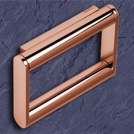 keuco plan toilettenpapierhalter 14961 kupfer gl nzend 14961010000. Black Bedroom Furniture Sets. Home Design Ideas