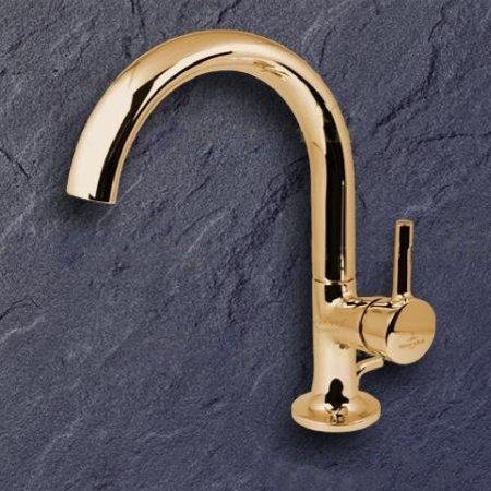 Villeroy & Boch LaFleur 33500955-00 Waschtischmischer Gold Armatur