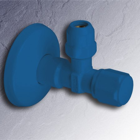 eckventil blau 1 2 x 3 8 zoll 01345 pb selbstdichtend mit. Black Bedroom Furniture Sets. Home Design Ideas