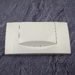 geberit wc bet tigungsplatte 200f weiss dr ckerplatte abdeckplatte. Black Bedroom Furniture Sets. Home Design Ideas