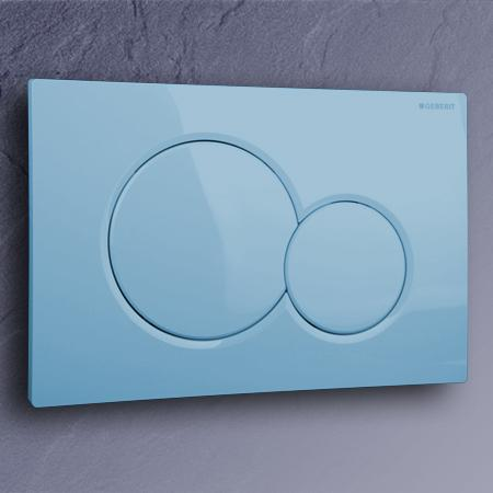 geberit bet tigungsplatte sigma01 farbe bermuda blau. Black Bedroom Furniture Sets. Home Design Ideas