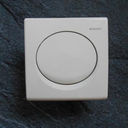 geberit 241319111 urinal bet tigungsplatte pneumatisch samba kunststoff wei. Black Bedroom Furniture Sets. Home Design Ideas