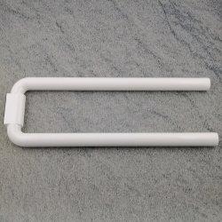 hewi serie 477 handtuchhalter reinweiss 99 weiss 445 mm 2 armig. Black Bedroom Furniture Sets. Home Design Ideas