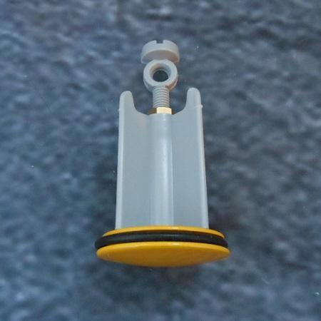 hansgrohe waschbeckenst psel gelb ventilkegel 96026480. Black Bedroom Furniture Sets. Home Design Ideas