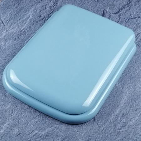ideal standard tonca wc sitz bermudablau mit deckel scharniere chrom k700501 bd. Black Bedroom Furniture Sets. Home Design Ideas