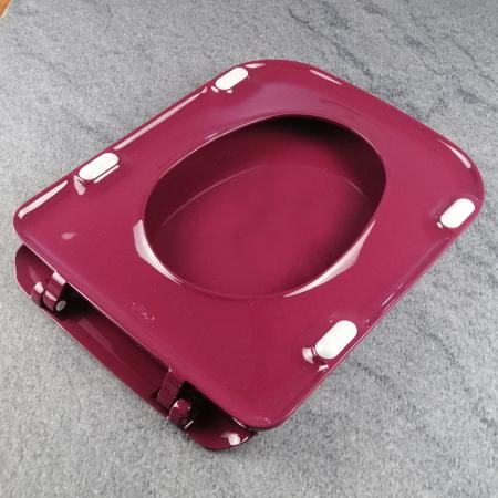 ideal standard tonca wc sitz rubinrot mit deckel scharniere chrom k700501 rr rot. Black Bedroom Furniture Sets. Home Design Ideas