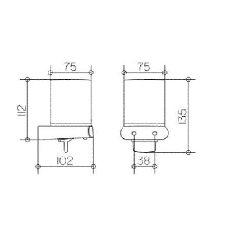 keuco 11652 chrom elegance neu lotionspender 11652010100. Black Bedroom Furniture Sets. Home Design Ideas