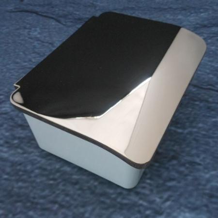 keuco elegance feuchtpapierbox 11667 edelmessing weiss 11667013000. Black Bedroom Furniture Sets. Home Design Ideas