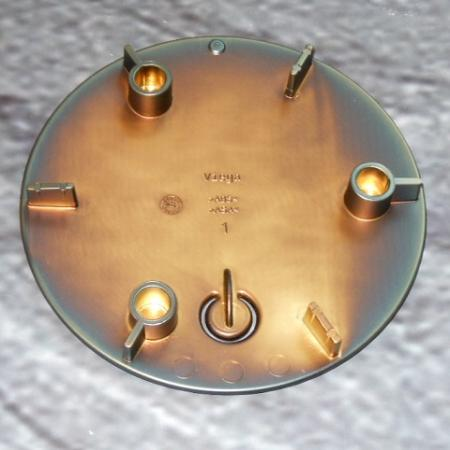 viega tempoplex ausstattungsset bronze 649982 br abdeckung temposet abdeckhaube. Black Bedroom Furniture Sets. Home Design Ideas
